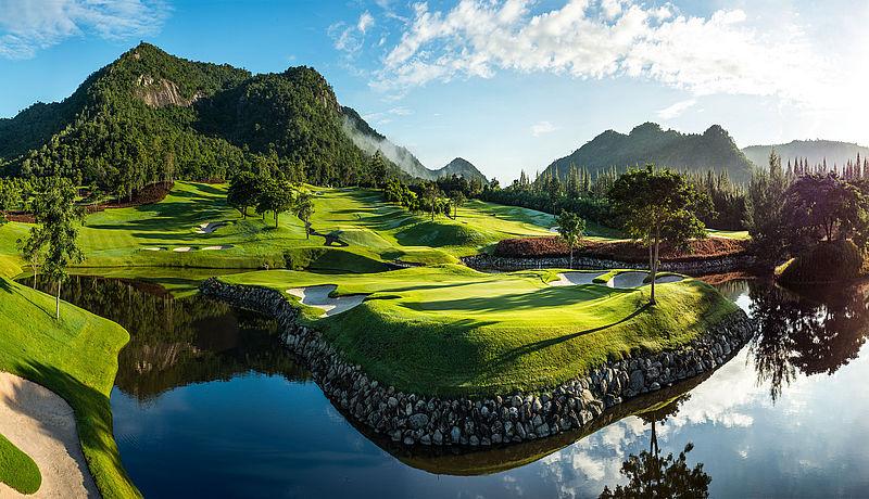 Black Mountain Golf Club / Golfreisen Thailand