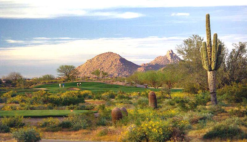 Grayhawk Golf Club bei Phoenix / Golfreisen Arizona