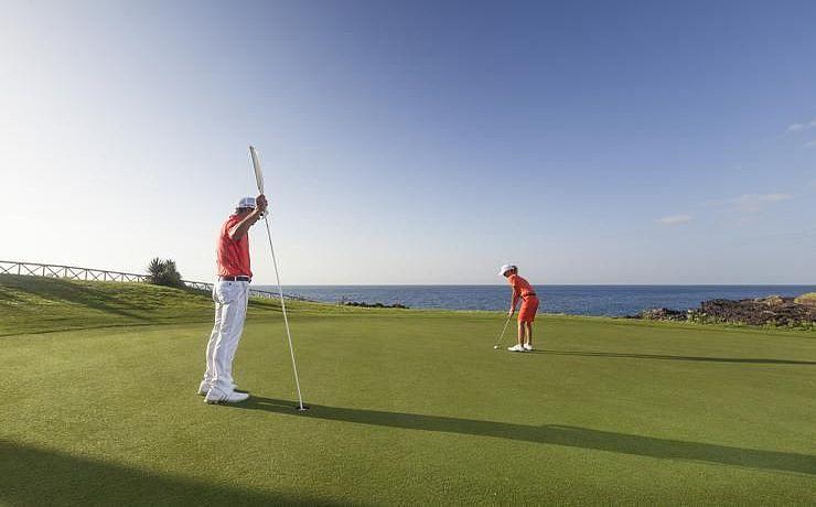 Amarilla Golf Country Club auf Teneriffa, Golfreisen auf die Kanarischen Inseln / Spanien