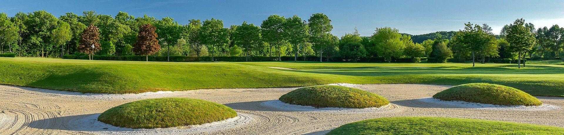 Golfclub du Chateau de Chailly im Burgund, Frankreich
