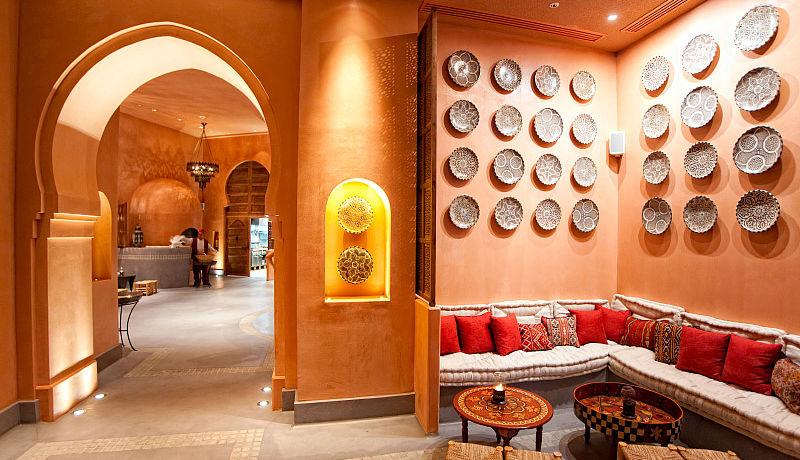 Nargile Restaurant beim The Westin Resort Costa Navarino / Golfreisen Griechenland