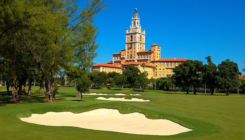 Biltmore Golf Course in Miami / Golfreisen Florida