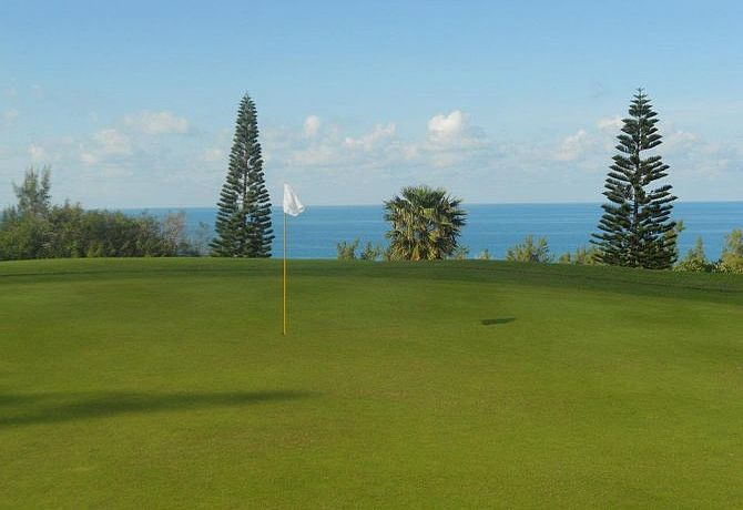Ocean View Golf Course auf den Bermudas