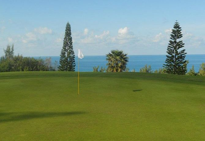 Ocean View Golf Course auf den Bermudas