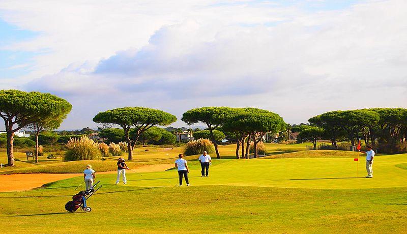 Sancti Petri Hills Golf, Costa de la Luz, Spanien