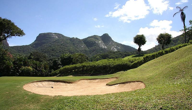 Gavea Golf Country Club in Rio de Janeiro, Brasilien