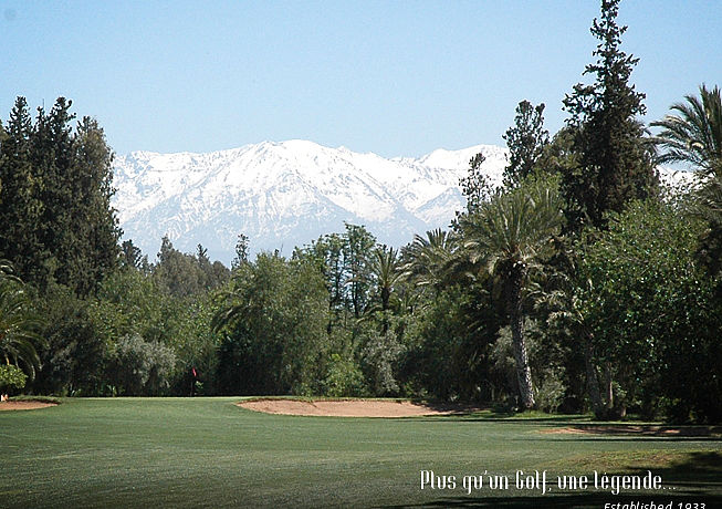 Royal Golf Marrakech / Golfreisen Marokko