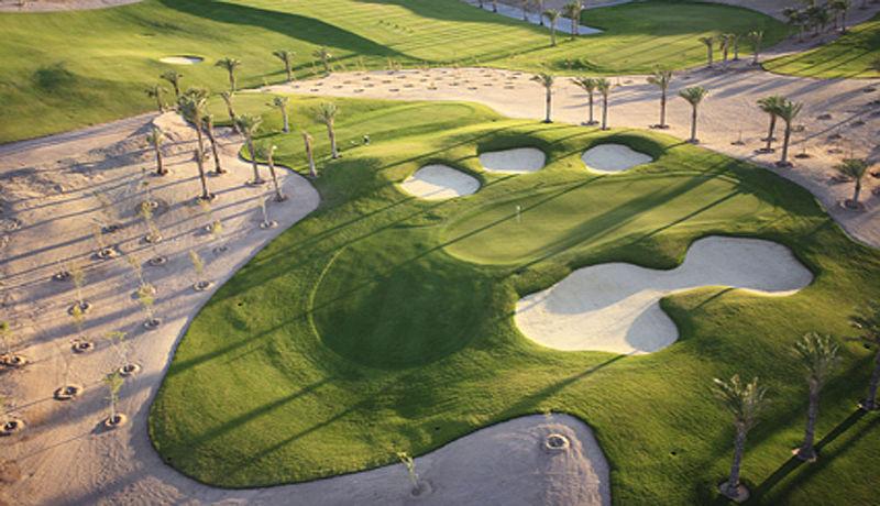 Madinat Makadi Golfplatz am Roten Meer in Ägypten