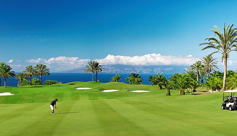 Abama Golf auf Teneriffa, Golfreisen auf die Kanarischen Inseln / Spanien