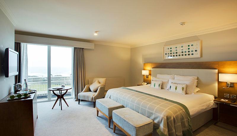Doppelzimmer Deluxe im Portmarnock Hotel and Golf Links / Golfreisen Irland