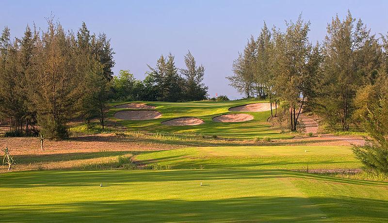 Montgomerie Links Golf Course / Golfreisen Vietnam