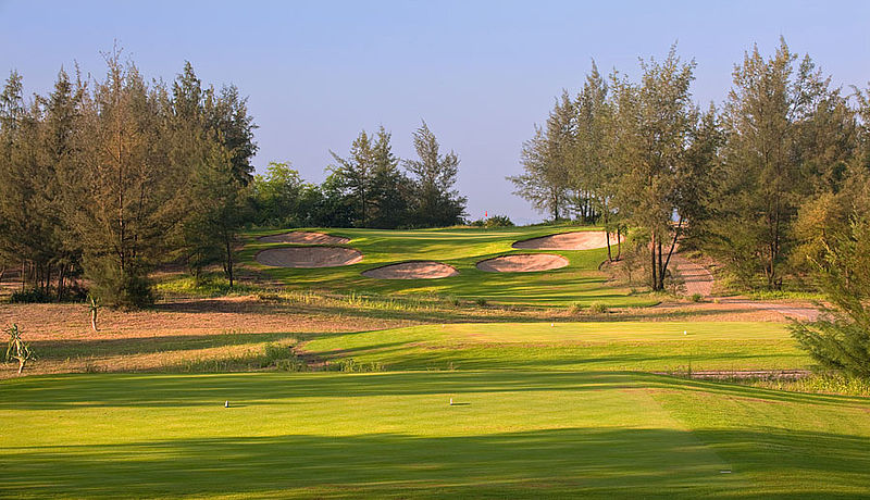 Montgomerie Links Golf Course / Golfreisen Vietnam