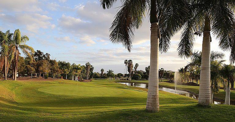Centro de Golf Los Palos auf Teneriffa, Golfreisen auf die Kanarischen Inseln / Spanien