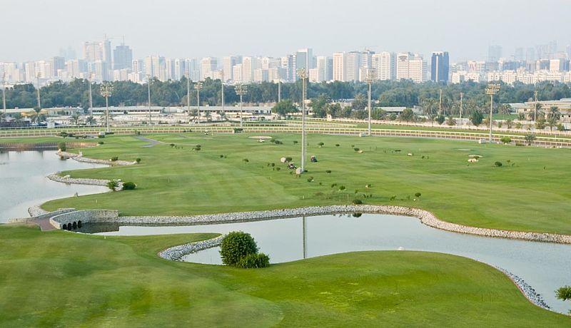 Abu Dhabi City Golf Club, Abu Dhabi, VAE / Golfreisen Abu Dhabi