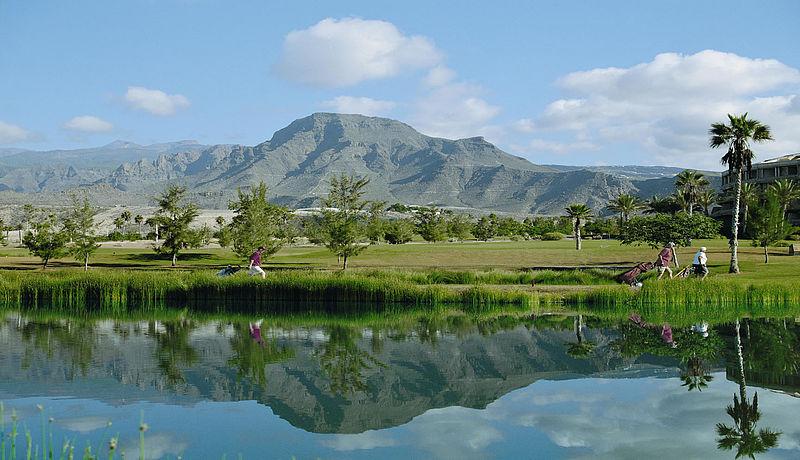 Las Americas Golf auf Teneriffa, Golfreisen auf die Kanarischen Inseln / Spanien