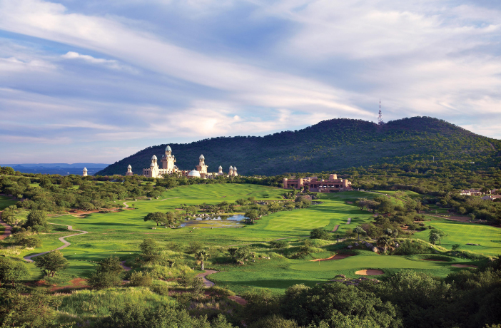 Sun City Golf Gary Player Course / Golfreisen Südafrika