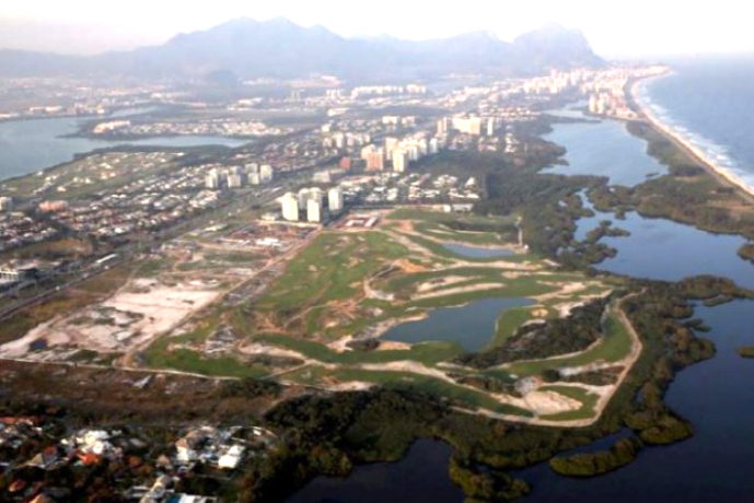 Olympic Rio Golf Course in Brasilien