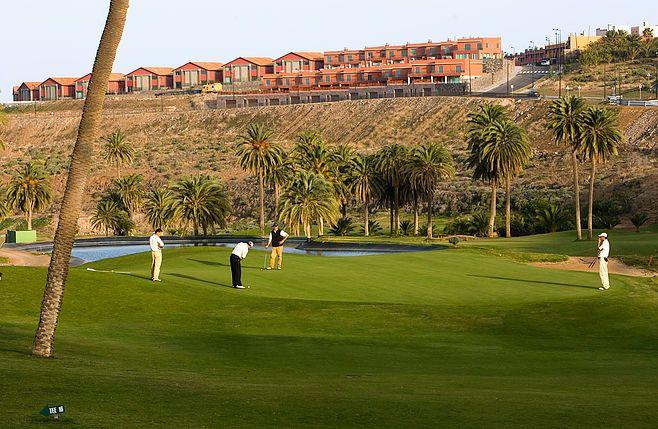El Cortijo Club De Campo Golf auf Gran Canaria, Kanarische Inseln, Spanien