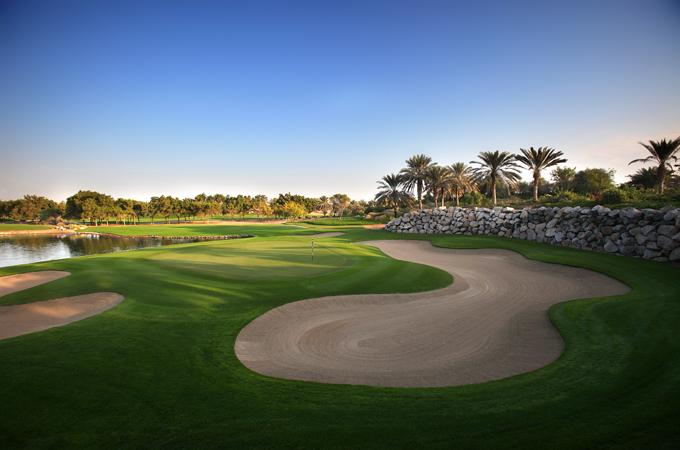Abu Dhabi Golf Club in den VAE / Golfreisen Abu Dhabi