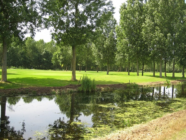 Golfbaan Hitland in Holland